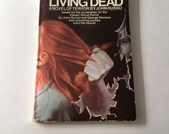 1974 Night of the Living Dead Paperback Book