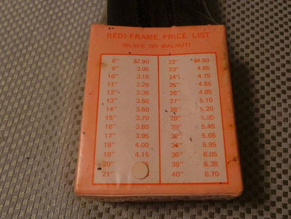 Vintage Frame It YourSelf Redi Frame 9