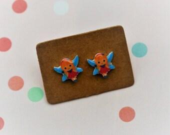 Fairy Earrings, Teeny Tiny Earrings, Faerie Jewelry, Cute Earrings
