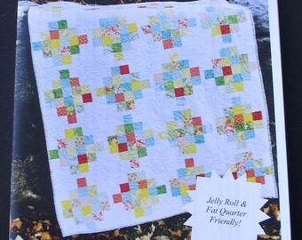 Sweet Jane's - Mixed Bouquet Quilt Pattern