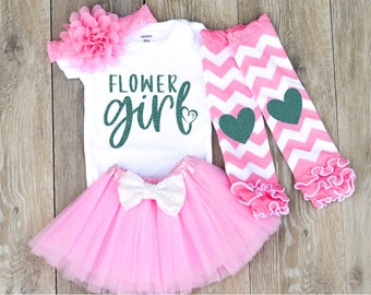 Flower Girl Outfit Flower Girl Shirt Flower Girl Gift Petal Patrol Shirt Flower Girl Tutu Set Flower Girl Tutu Outfit
