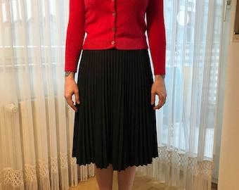 Pleated Skirt black sz 36