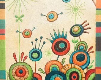 Seedlings (11x14 Art Print)