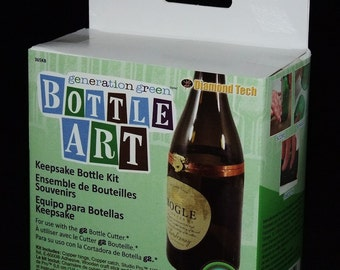 Keepsake Bottle Art Kit For Use With G2 Bottle Cutter SALE