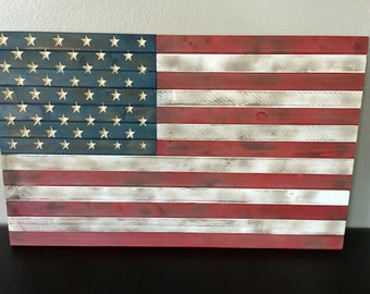 Red,white,blue american flag