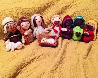Amigurumi Nativity Set