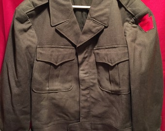 WW2 U.S Army 28th ID Ike Jacket