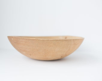 Vintage Raw Wooden Bowl