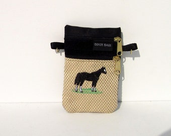Black Horse Small Cell Phone Case