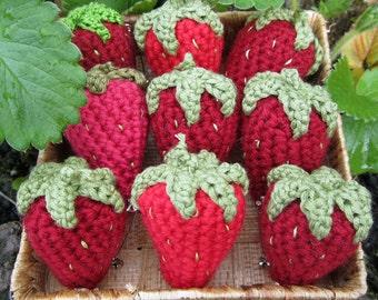 Silly Strawberry Brooch