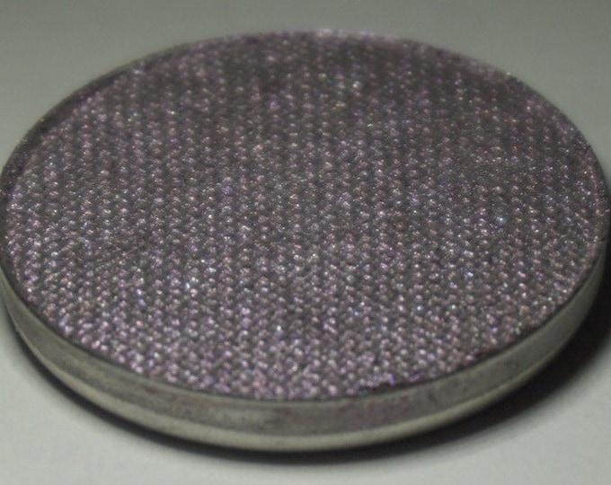 Ophiucus Pressed Eyeshadow - Smokey Silverish Base with Violet Duochrome Shift