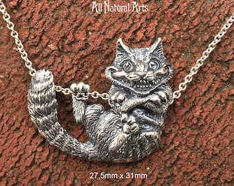 Cheshire Cat  (.925 Sterling Silver)