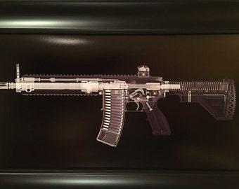 HK 416 print