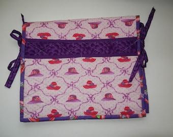 Walker Bag- Red Hat Fabric