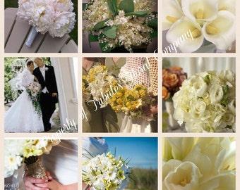 Custom Silk Wedding Bouquet - Silk Flower Wedding Bouquet