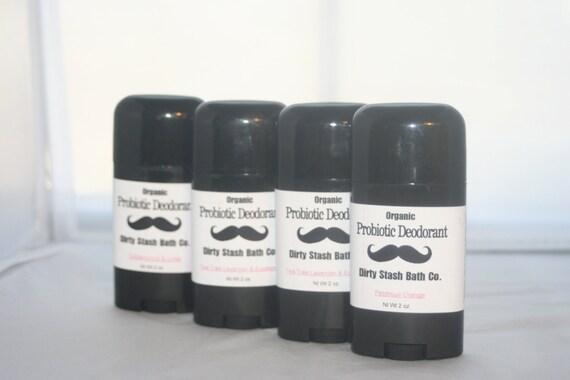 2 oz Natural Probiotic Deodorant with Organic ingredientsPatchouli Orange