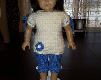 18 Inch Doll Sweater and Capris