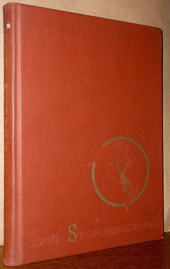 Stephens College Yearbook (Annual) 1945 Pan-American Stephensophia Columbia, Missouri MO Boone County