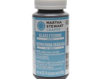 Martha Stewart Crafts Glass Etching Cream, 20.79 Oz
