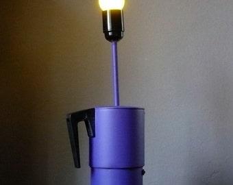 Coffee machine lamp