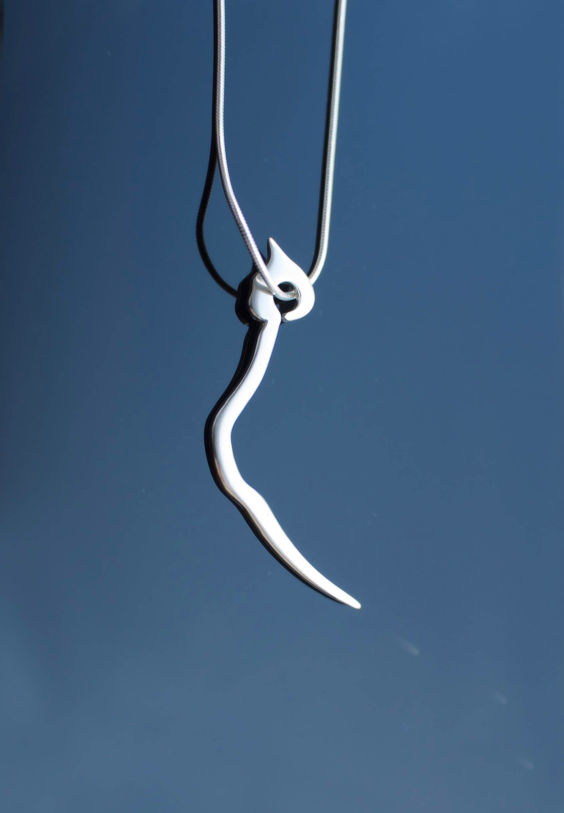 lover cat necklace jewelry silver pin gift jewellery tail swinging sterling