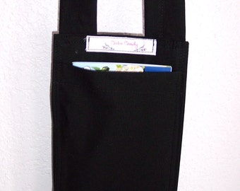 "This is ""The Phone Sac"", Cell phone pouch, phone carrier, phone tote, handmade and ideal for Hospital patients"