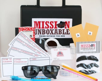 3 month Subscription of Top Secret Agent Mission Spy Kits with briefcase