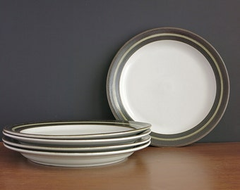 "Arabia Karelia Dinner Plates - 1970s Arabia Finland Karelia Plates - Anja Jaatinen-Winquist Design - 10"" Dinner Plates - 2 Available"