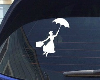 Disney Mary Poppins Decal