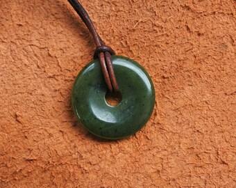 Jade Nephrite Pendant Green