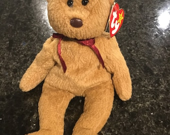 Curly - Retired Beanie Baby With Multiple Errors