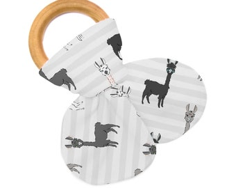 Non Personalized Teether - Llama Love