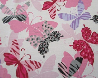 Butterfly Love Quilt Fabric