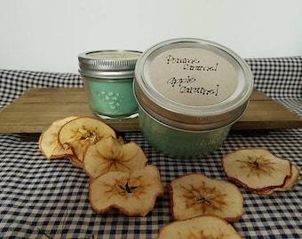 Candle jar mason - Caramel Apple