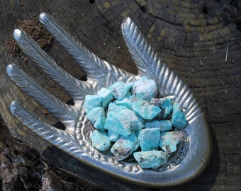 2 Amazonite Stones for Prosperity