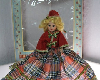 Dolls of All Nations - Scotch Girl - 1940s in Original Box