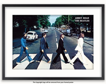 The Beatles Abbey Road Poster