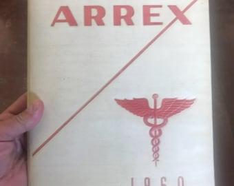 1960 Arrex Yearbook . Arrex Philadelphia yearbook . Vintage yearbook . 1960 yearbook . Vintage Philadelphia . Philadelphia arrex yearbook