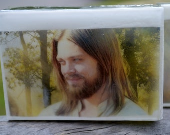 Walking Dead Graphic Art Soap Bar - Jesus - Novelty Soap - AN AJSWEETSOAP EXCLUSIVE