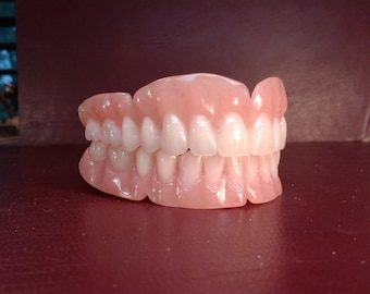 Upper Lower ultra thin dentures, wax try-in balance