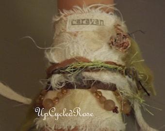 Jipcee Chic Caravan Cuff Wearable Art Trashion Fashion