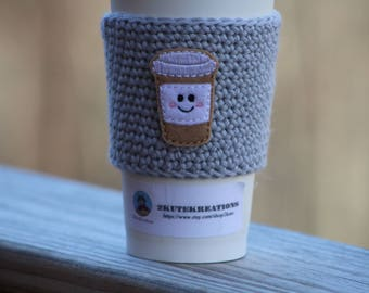 Coffee sleeve, cup cozy, cup sleeve, Coffee cozy, coffee gift, gift mom gift, best friend gift, coworker gift, teacher gift, gift for her