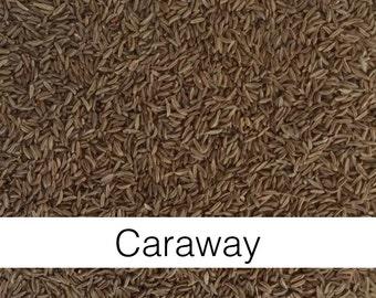 Caraway Seed, Whole (Carum carvi) - Organic