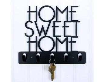 Home Sweet Home Decorative Key Holder / Wall Hook / Key Rack
