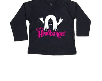 Baby Long Sleeve - Little Headbanger