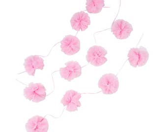 We Heart Pink Tulle Garland