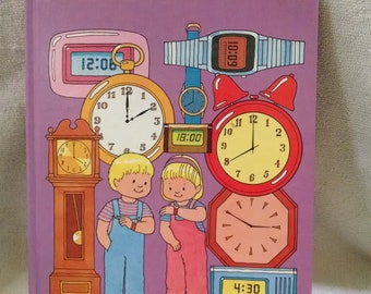 My First Book of Telling The Time
