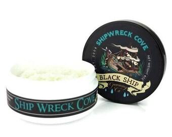 Ship Wreck Cove shaving soap-Mens shaving Soap- Handmade Soaps