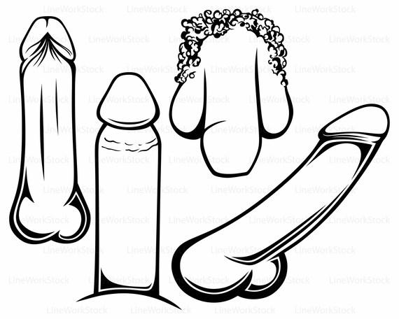 penis svg penis clipart penis svg erotic silhouette penis cricut rh etsystudio com Spade Clip Art Circumcision Clip Art