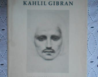 The Prophet by Khalil Gibran Hardcover and Dust Jacket. 1970 edition.